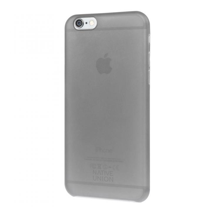 【iPhone6ケース】薄型ケース NATIVE UNION CLIC AIR スモーク iPhone 6_0
