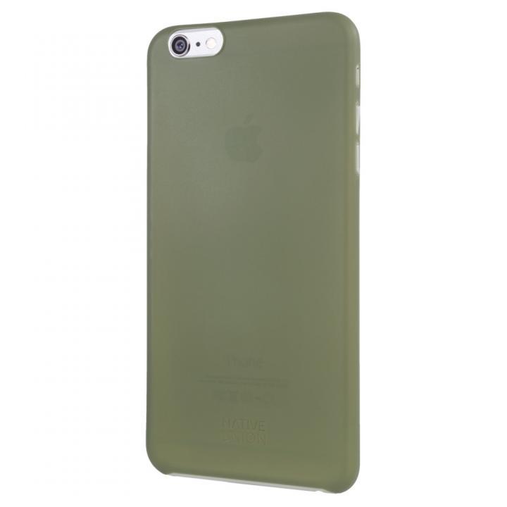 薄型ケース NATIVE UNION CLIC AIR オリーブ iPhone 6 Plus