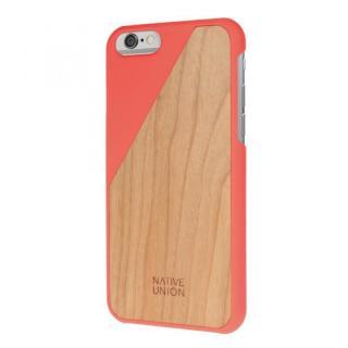 iPhone6 ケース ウッド/ラバーケース NATIVE UNION CLIC Wooden オレンジ/チェリー iPhone 6