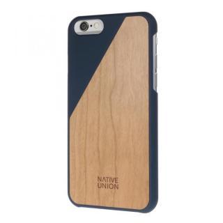 ウッド/ラバーケース NATIVE UNION CLIC Wooden ネイビー/チェリー iPhone 6