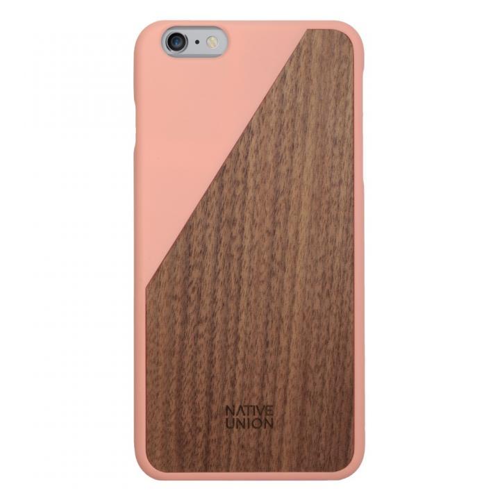iPhone6 Plus ケース ウッド/ラバーケース NATIVE UNION CLIC Wooden ピンク/ウォールナット iPhone 6 Plus_0