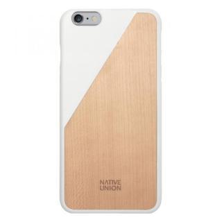 iPhone6 Plus ケース ウッド/ラバーケース NATIVE UNION CLIC Wooden ホワイト/ウォールナット iPhone 6 Plus