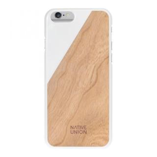 【iPhone6ケース】ウッド/ラバーケース NATIVE UNION CLIC Wooden ホワイト/チェリー iPhone 6_1