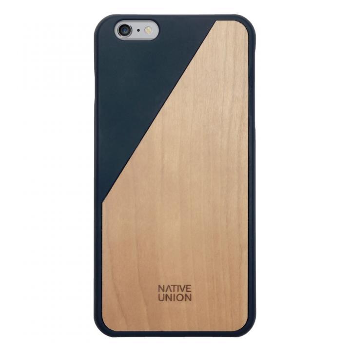 iPhone6 Plus ケース ウッド/ラバーケース NATIVE UNION CLIC Wooden ネイビー/チェリー iPhone 6 Plus_0