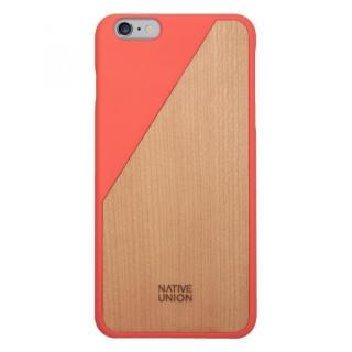 iPhone6 Plus ケース ウッド/ラバーケース NATIVE UNION CLIC Wooden オレンジ/チェリー iPhone 6 Plus