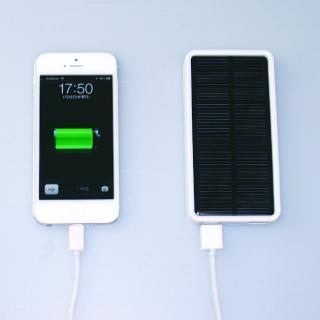 [5000mAh] ソーラー充電器 mobile solar