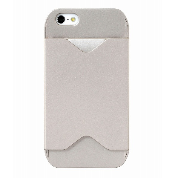 iPhone SE/5s/5 ケース フラッシュパスケース シャンペンゴールド iPhone SE/5s/5ケース_0