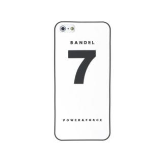 BANDEL(バンデル) No.7 ホワイト iPhone SE/5s/5ケース