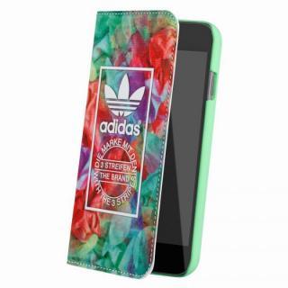 【9月上旬】adidas Originals 手帳型ケース フローラル iPhone 6