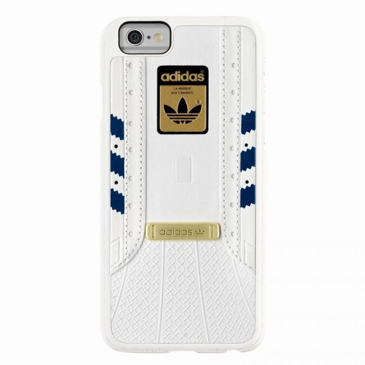 【iPhone6s/6ケース】adidas Originals 1969 3Dレイヤーハードケース ホワイト ネイビー iPhone 6s/6_0