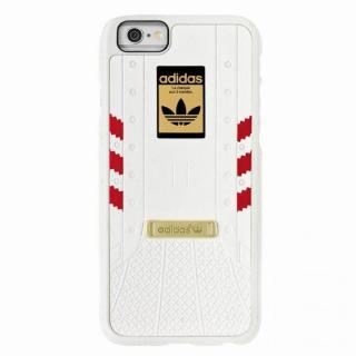 adidas Originals 1969 3Dレイヤーハードケース ホワイト レッド iPhone 6s/6