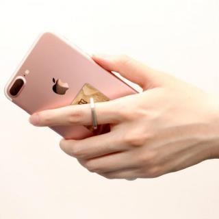 Smart Ring スマホリング 天然木 エポニー_3