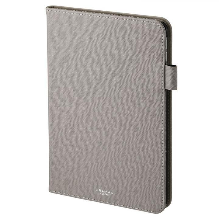 GRAMAS COLORS EURO Passione Book PUレザーケース グレー iPad mini(2019)/iPad mini 4_0