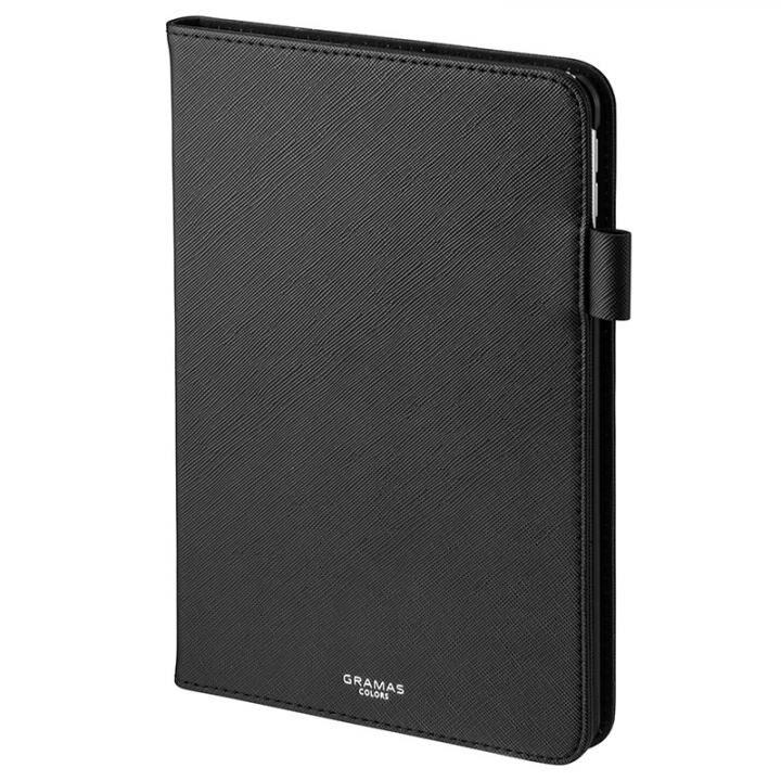 GRAMAS COLORS EURO Passione Book PUレザーケース ブラック iPad mini(2019)/iPad mini 4_0