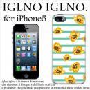 iglno iglno フラワーボーダー グリーン iPhone 5ケース