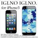 iglno iglno ボックスプリント Champion ブルー iPhone 5ケース