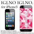 iglno iglno ボックスプリント Champion ピンク iPhone 5ケース