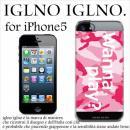 iglno iglno ボックスプリント Wanna play ピンク iPhone 5ケース