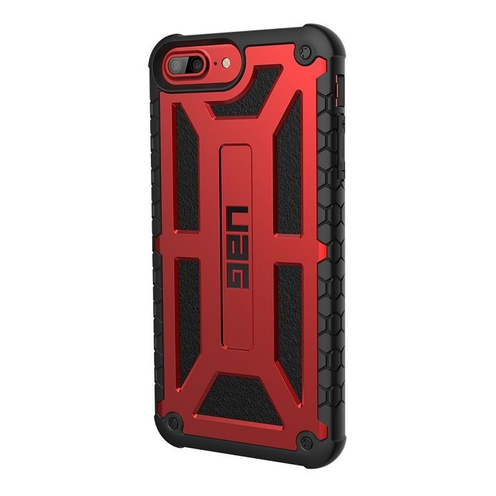 UAG Monarch Case 耐衝撃ケース クリムゾン iPhone 7 Plus/6s Plus