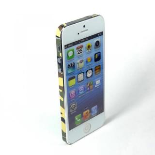 【iPhone SE/5s/5ケース】SPDeCO iPhone5 サイドシール/カモフラ グリーン
