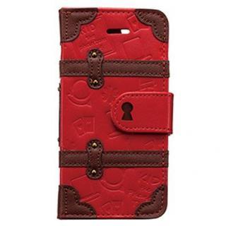 名探偵コナン トランクカバー キッド iPhone SE/5s/5c/5 手帳型ケース
