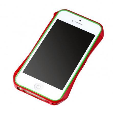 Cleave Aluminum Bumper Aero  iPhone SE/5s/5 ヨーロピアンレッド