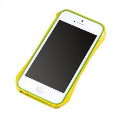 Cleave Aluminum Bumper Aero  iPhone SE/5s/5 ヨーロピアンイエロー