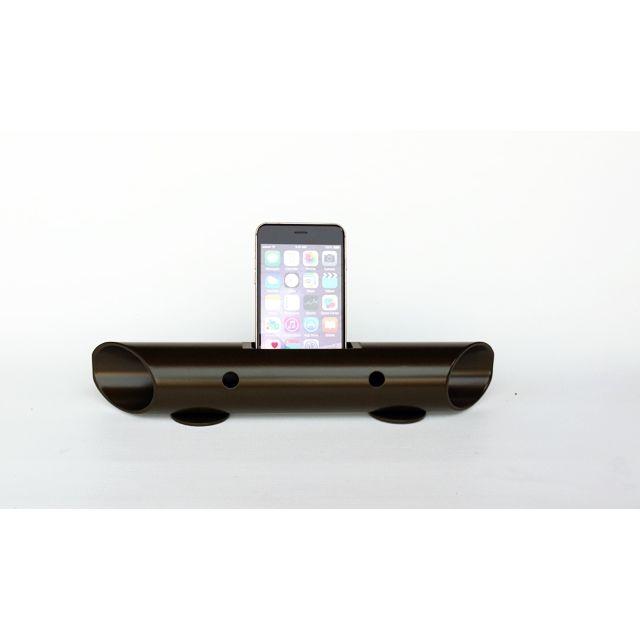 マグネシウム製スマートフォン用無電源スピーカー バイオン-Mg60 オリーブドラブ