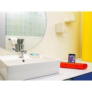 マグネシウム製スマートフォン用無電源スピーカー バイオン-Mg60 スノーホワイト_3