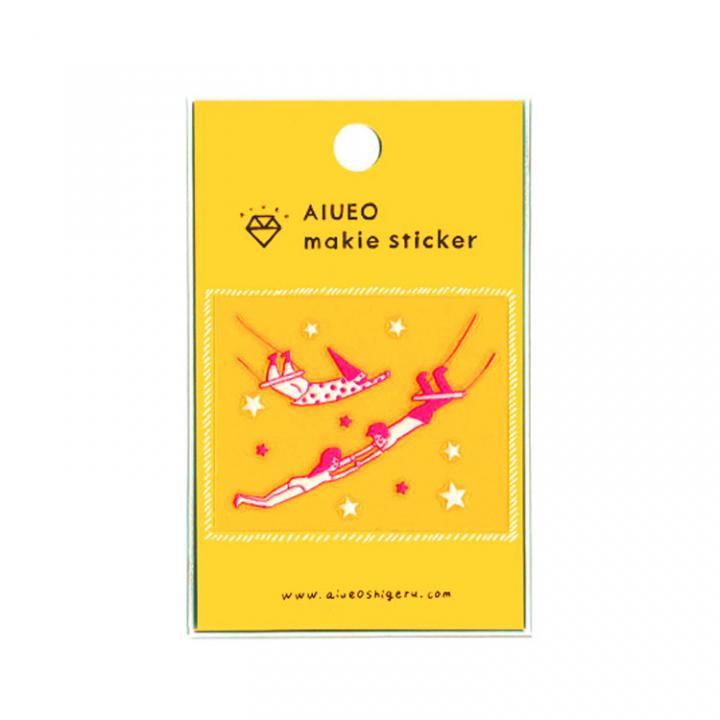 蒔絵シール makie sticker circus PK_0