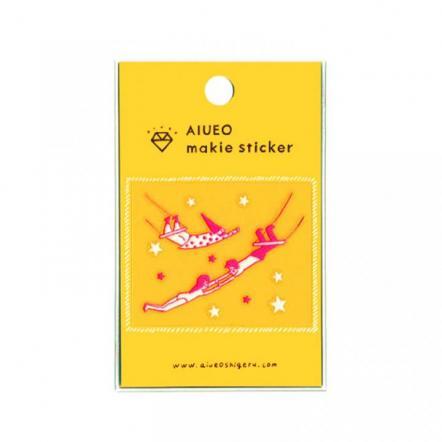 蒔絵シール makie sticker circus PK