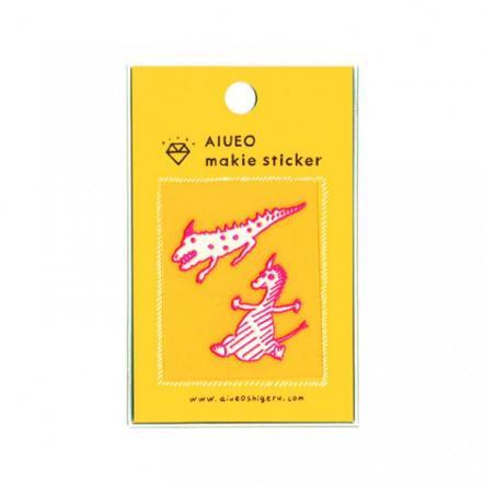 蒔絵シール makie sticker monster PK