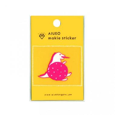 蒔絵シール makie sticker dinosaur PK