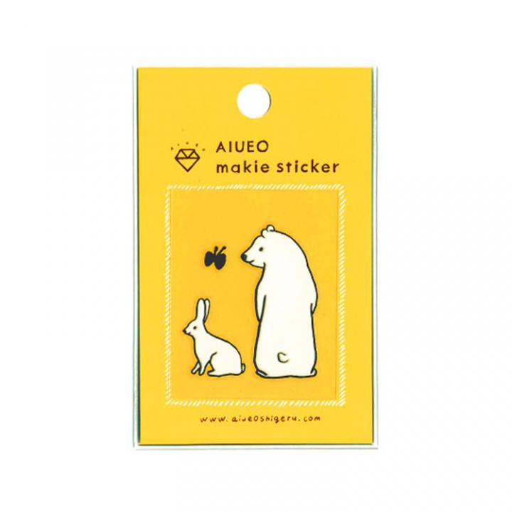 蒔絵シール makie sticker est WH_0
