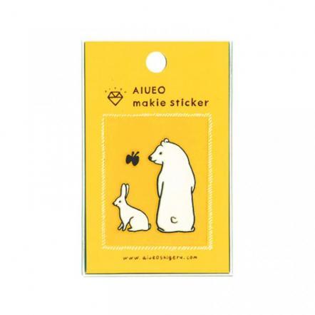 蒔絵シール makie sticker est WH