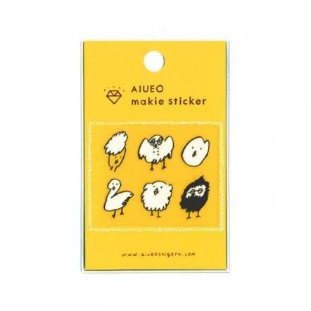 蒔絵シール makie sticker toribo WH