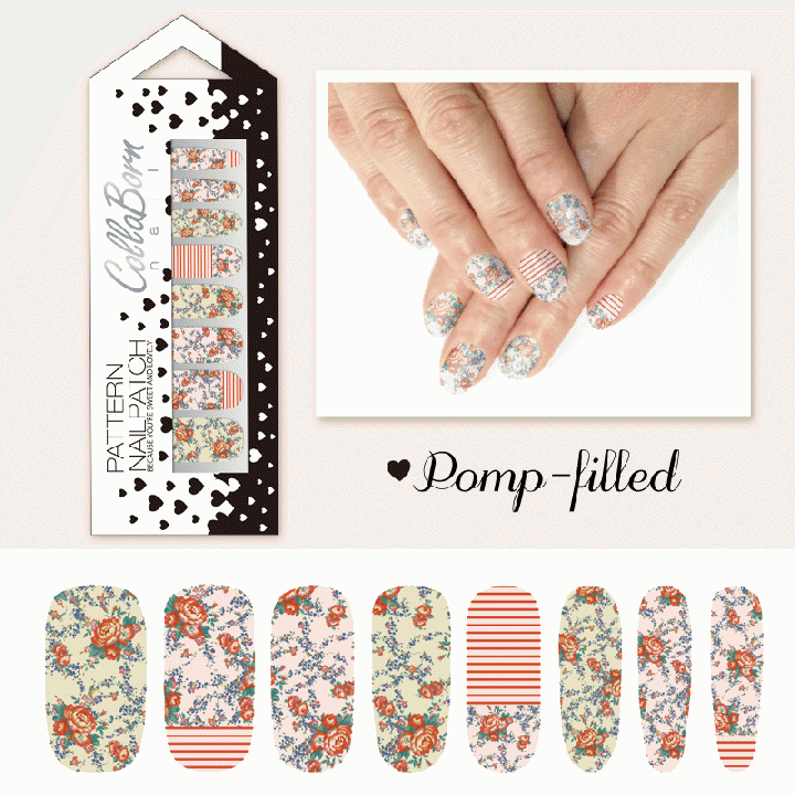 CollaBorn Nail Patch OS-NL-014 Pomp-filled_0
