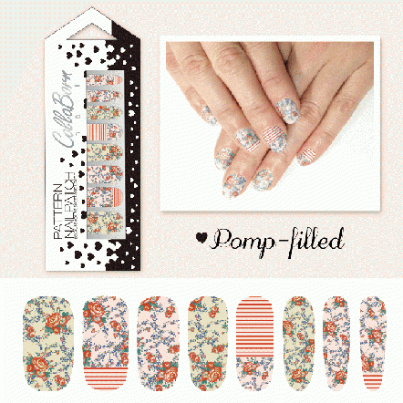CollaBorn Nail Patch OS-NL-014 Pomp-filled