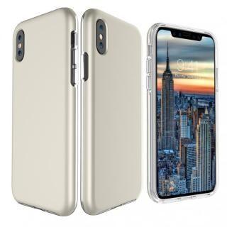 【iPhone Xケース】PhoneFoam Dual Skin シャンパンゴールド iPhone X