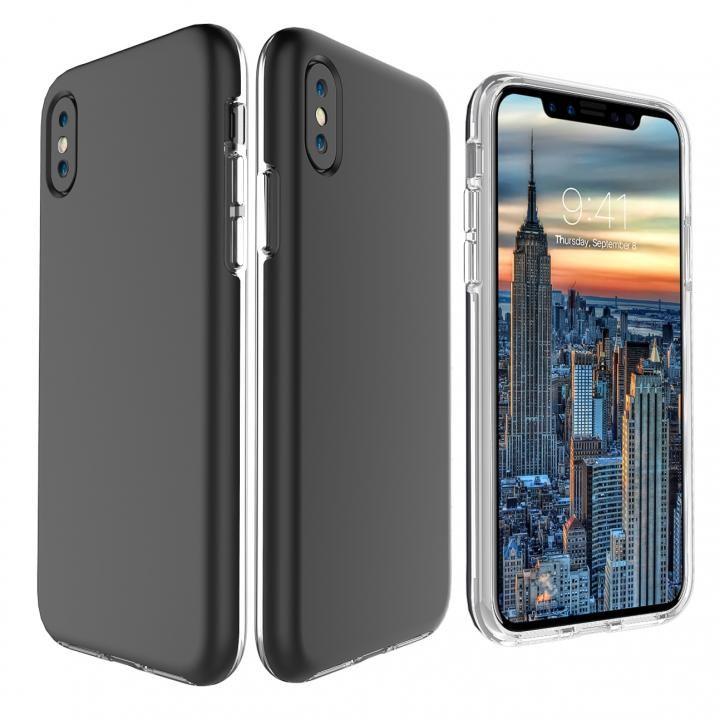 iPhone X ケース PhoneFoam Dual Skin ブラック iPhone X_0