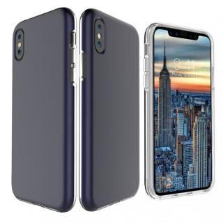 【iPhone Xケース】PhoneFoam Dual Skin ネイビー iPhone X