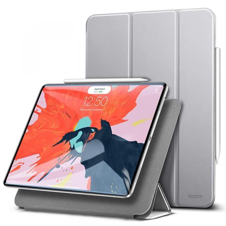 マグネット吸着式 Smart Folio ケース シルバーグレイ 11インチ iPad Pro 2018_0