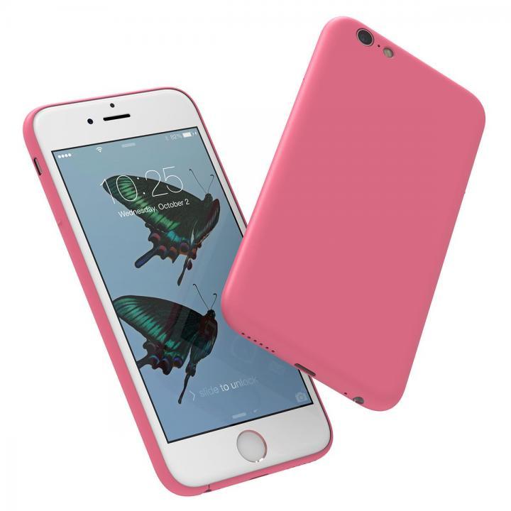 【iPhone6s/6ケース】ミニマルデザインケース MYNUS ピンク iPhone 6s/6_0