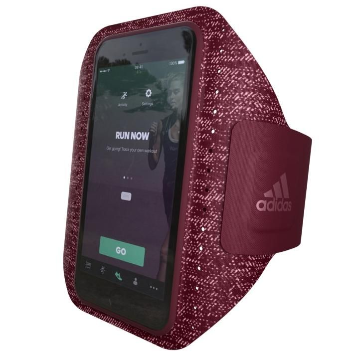 adidas Performance Sport アームバンド Collegiate Burgundy iPhone 7