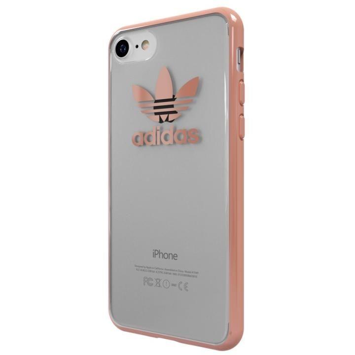 【iPhone7ケース】adidas Originals オリジナル TPUクリアケース Rose Gold_0