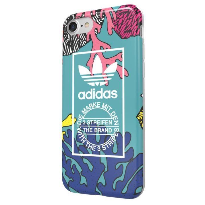 adidas Originals オリジナル TPUケース Coral graphic iPhone 7