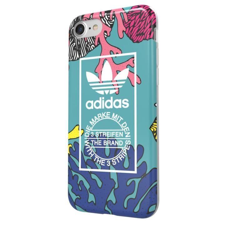adidas Originals オリジナル TPUケース Coral graphic iPhone 7