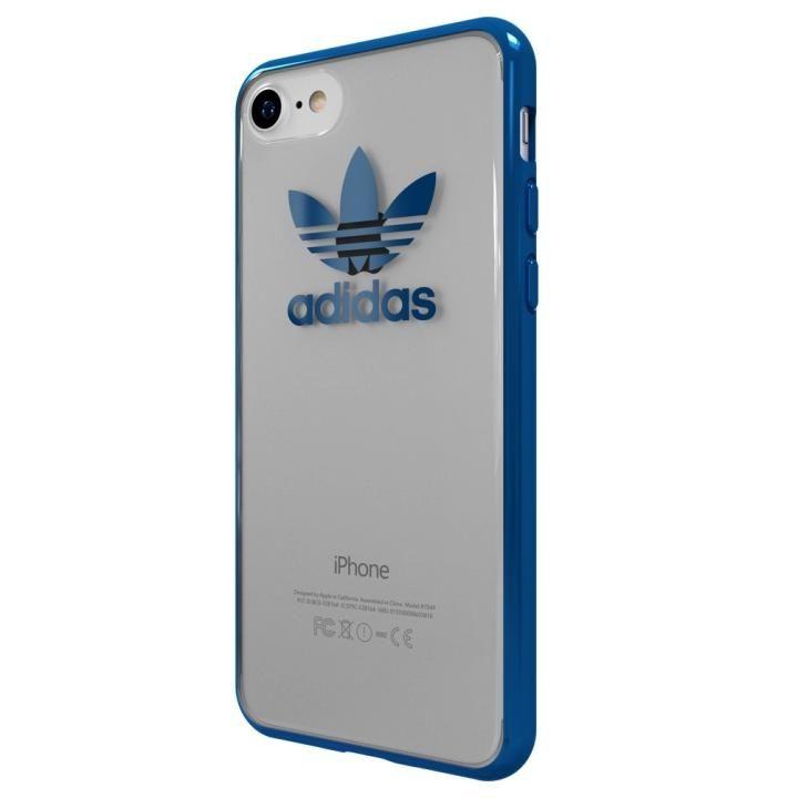 adidas Originals オリジナル TPUクリアケース BlueMetallic