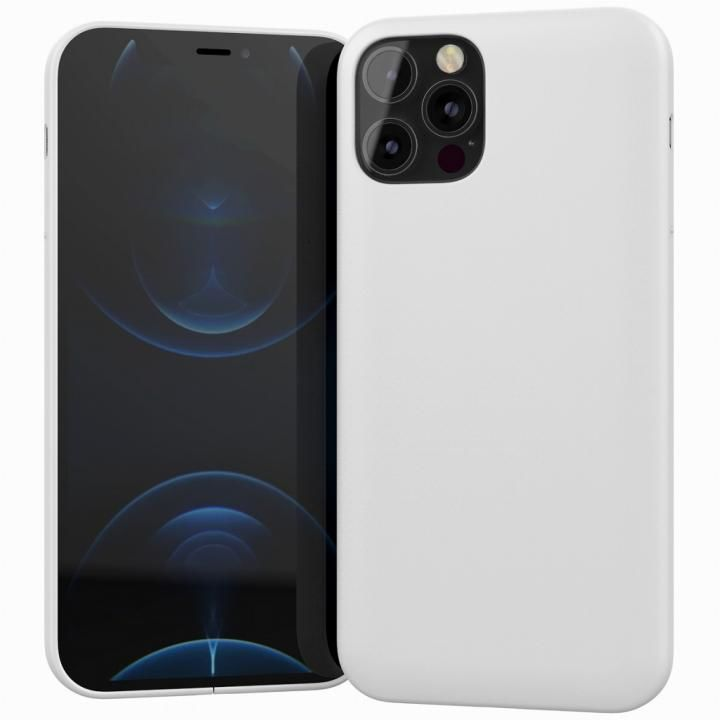 MYNUS CASE マットホワイト iPhone 12 Pro_0