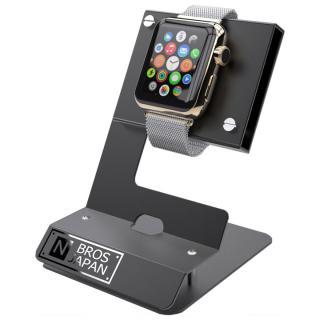 Apple Watchスタンド ステンレス&アルミ素材 ブラック